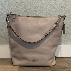 Coach Pebble Leather Abby Duffle